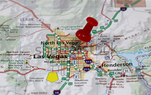 Las Vegas Service Area Map